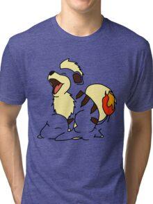 Growlithe Use Tackle! Tri-blend T-Shirt