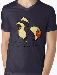 Growlithe Use Tackle! Mens V-Neck T-Shirt
