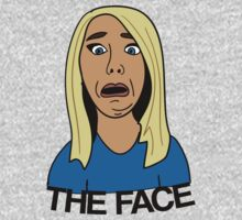 "Jenna Marbles ""The Face"" by stevebluey"