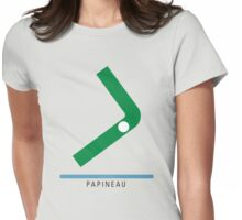 Station Papineau Womens Fitted T-Shirt