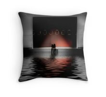 Flooded with applause Throw Pillow