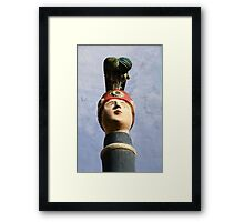 Portmeirion Petrol pump Framed Print