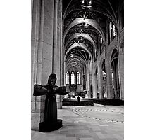 Welcome to Grace - Grace Cathedral - San Francisco - USA Photographic Print