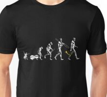 French Horn Evolution - no tagline Unisex T-Shirt