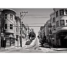 Cnr. Hyde and Washington. San Franscisco - USA Photographic Print