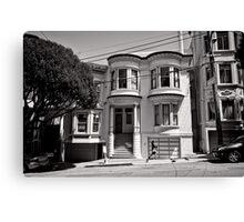 Walk on by - San Francisco - USA Canvas Print