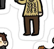 Sherlock Doodle Sticker Set Sticker