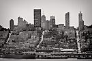 Hills of San Francisco - California, USA by Norman Repacholi