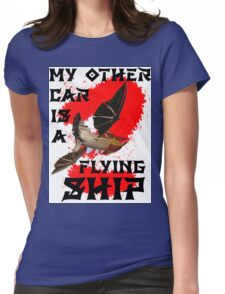 My Other Car is a Flying Ship Womens Fitted T-Shirt