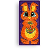 The Easter Bunny is here! Canvas Print
