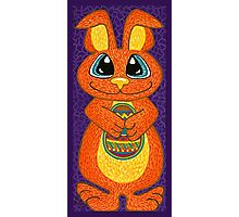 The Easter Bunny is here! Photographic Print