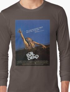 The Evil Dead Movie Poster Long Sleeve T-Shirt