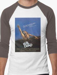 The Evil Dead Movie Poster Men's Baseball ¾ T-Shirt