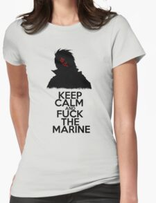 Dragon - Keep Calm  Womens Fitted T-Shirt