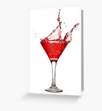Coctail Greeting Card