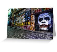 Joker Greeting Card