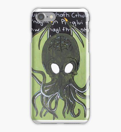 Ia! Ia! Cthulhu Fthagn! iPhone Case/Skin