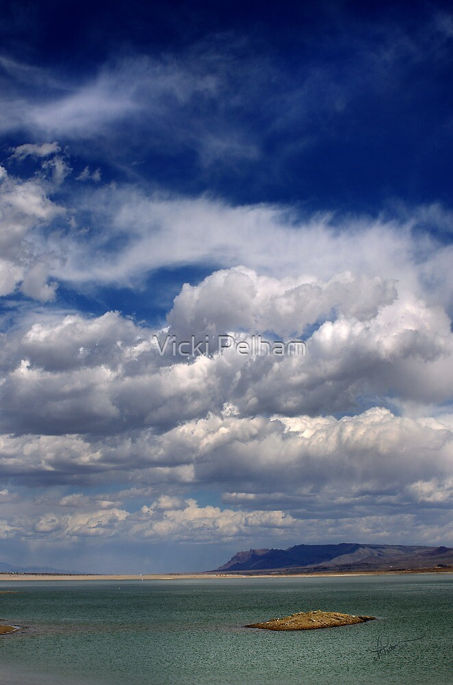 Big Sky at the Butte by Vicki Pelham