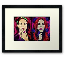 WICKED GAMES Framed Print