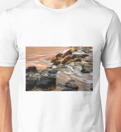 Sunset by the beach Unisex T-Shirt
