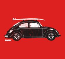 ROAM Volkswagen Beetle | Surfer T-shirt by ROAM  Apparel