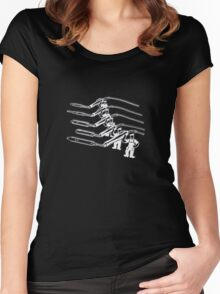 Soldering Irons #2 (Up Yours) Women's Fitted Scoop T-Shirt