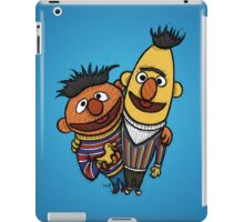 Bert And Ernie iPad Case/Skin