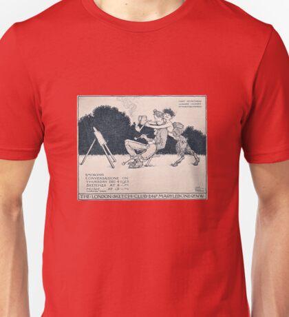The London Sketch Club meeting annoucement Unisex T-Shirt