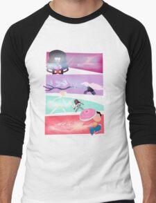Garnet, Amethyst, and Pearl, and Steven! Men's Baseball ¾ T-Shirt