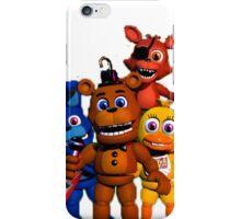 Hey I'm a huge FNAF fan iPhone Case/Skin