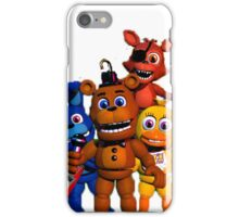 Hey I'm a huge FNAF fan iPhone Case/Skin