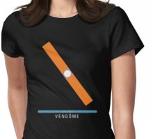 Station Vendôme Womens Fitted T-Shirt