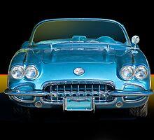 1959 Corvette Roadster   by DaveKoontz
