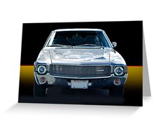 1969 AMX Greeting Card