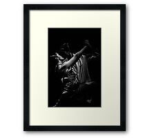 Argentine Tango in Argentina - in monochrome Framed Print