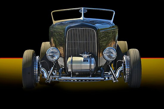 1932 Ford Roadster - Studio 1 by DaveKoontz