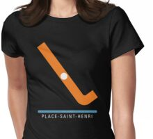 Station Place-Saint-Henri Womens Fitted T-Shirt