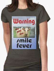 SMILE FEVER Womens Fitted T-Shirt