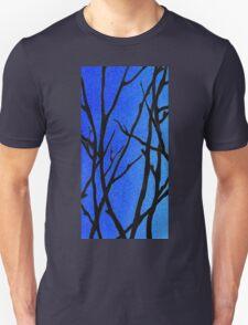 Ultramarine Forest Winter Blues I Unisex T-Shirt