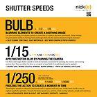 Understanding shutter speed. by Nick Griffin