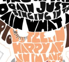 A Clockwork Orange Moive Poster Sticker