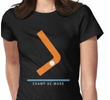 Station Champ-de-Mars Womens Fitted T-Shirt