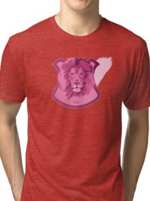 Hunting Series - The Pink Lion Head Tri-blend T-Shirt