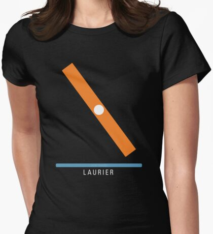 Station Laurier Womens Fitted T-Shirt