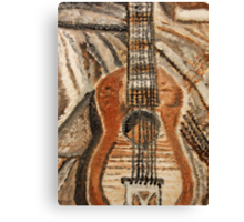 """Still Life Guitar"" by Carter L. Shepard Canvas Print"