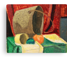 """Still Life Pail"" by Carter L. Shepard Canvas Print"