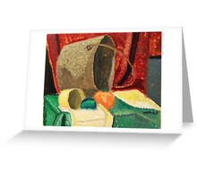 """Still Life Pail"" by Carter L. Shepard Greeting Card"