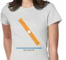 Station Beaubien Womens Fitted T-Shirt