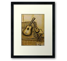 """Still Life Strings"" by Carter L. Shepard Framed Print"