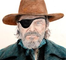 Jeff Bridges as U.S. Marshal Rooster Cogburn in True Grit  by jimfitz